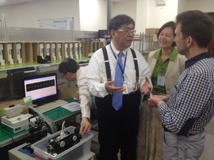 Рэй Системс посетила международную выставку Medicare 2013 в г. Тайбей, Тайвань 1